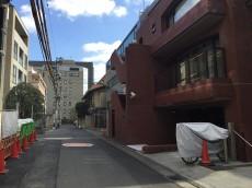 赤坂ハイツ 前面道路