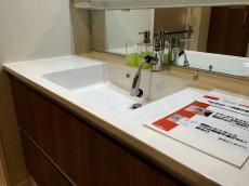 ヴィラロイヤル代々木 洗面室リネン棚