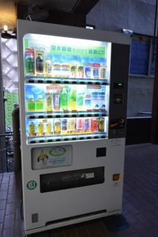 フォンテ青山 エントランス脇の自販機