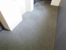 フィース駒込六義園 絨毯敷きの内廊下