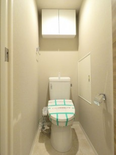 碑文谷マンション ウォシュレット付きトイレ