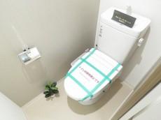 東北沢コーポラス ウォシュレット付きトイレ