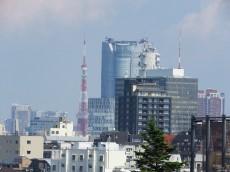 東北沢コーポラス 東京タワーと六本木ヒルズ