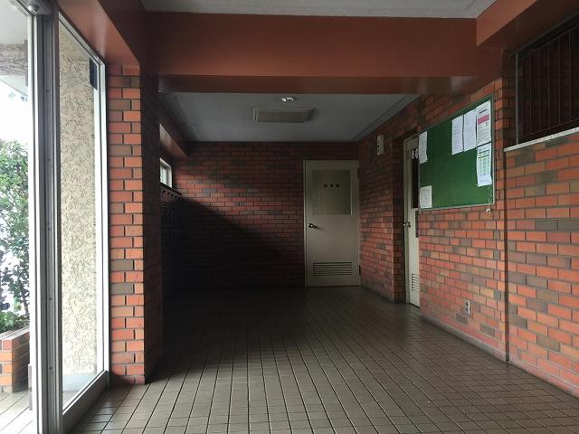 パーク・ハイム淡島 エントランスホール