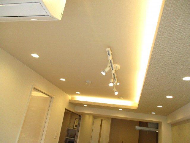 28代々木ハビテーション 天井照明