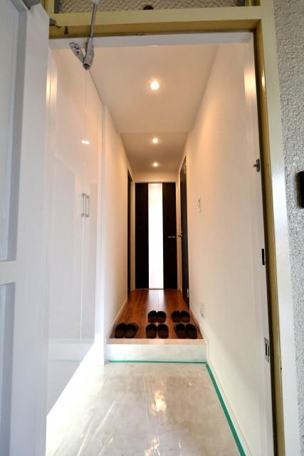 麻布コーポラス 玄関