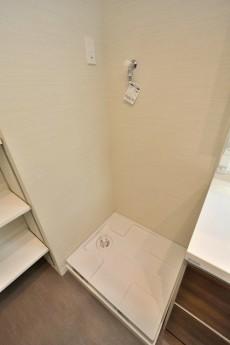九品仏第2スカイハイツ サニタリールーム洗濯機置場