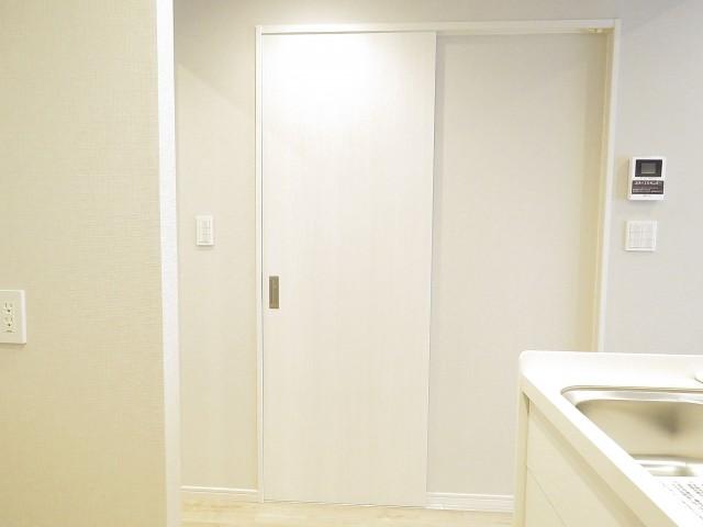 武蔵小山フラワーマンション 洗面室扉