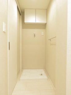 武蔵小山フラワーマンション 洗濯機置場