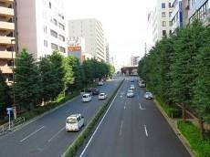 五反田コーポビアネーズ 前面道路