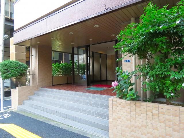 五反田コーポビアネーズ エントランス
