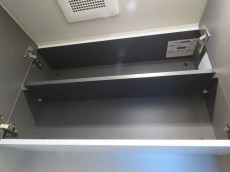 ユニーブル明大前 トイレの吊戸棚