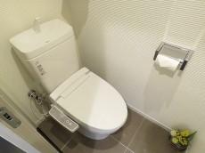 白金台桜苑マンション ウォシュレット付きトイレ