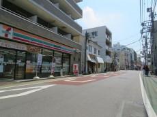 武蔵小山フラワーマンション 前面道路