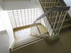 都立大コーポラス 共用階段