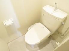 ファムール目黒 ウォシュレット付きトイレ