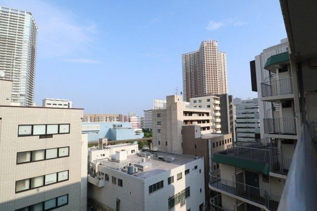 田町スカイハイツ 玄関