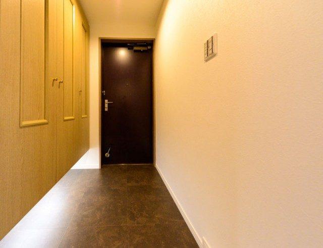 用賀パークハイム (1) 玄関
