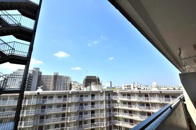 ニックハイム多摩川 バルコニー眺望