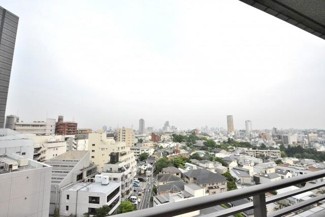 タワーテラス目黒青葉台 バルコニー眺望