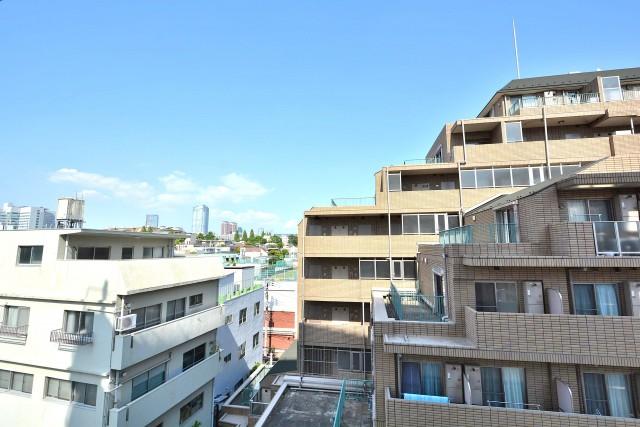 広尾マンション 洋室3眺望