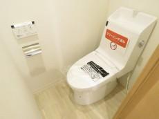 キクエイパレス戸越 ウォシュレット付きトイレ