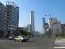朝日シティパリオ高輪台A館 桜田通り