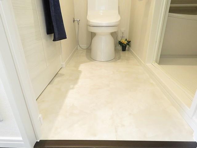 朝日シティパリオ高輪台A館 洗面室