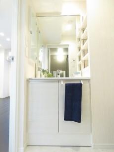 朝日シティパリオ高輪台A館 洗面化粧台