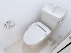 松濤マンション ウォシュレット付きトイレ