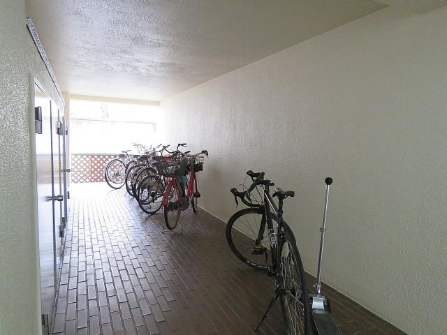 GSハイム太子堂 駐輪場