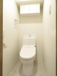 クレードル都立大 ウォシュレット付きトイレ