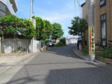 エタンセレ五反田 前面道路