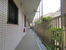 ワールドパレス大井仙台坂Ⅱ 共用廊下