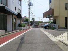ワールドパレス大井仙台坂Ⅱ 前面道路