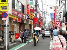 祖師谷大蔵サマリヤマンション 商店街