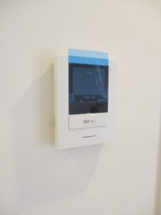 23大森駅前住宅一号棟TVモニター付きインターフォン