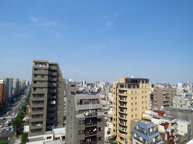 上野ロイヤルハイツ 眺望