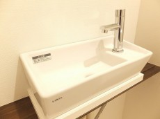 ラポール駒込 トイレ手洗い場