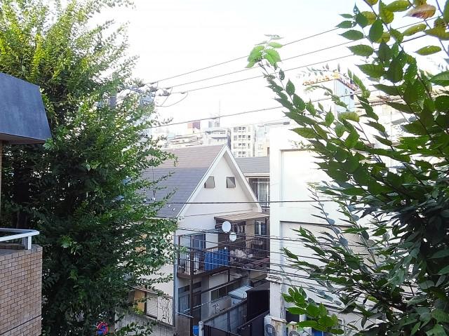 グランドメゾン目黒 5.1帖洋室の窓眺望
