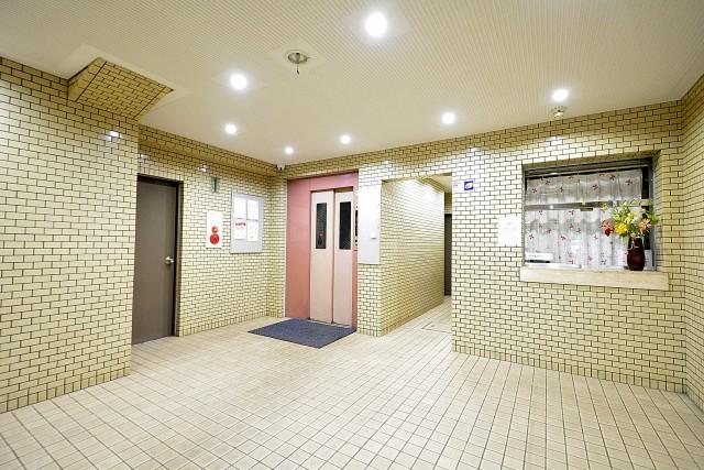 パレドール目白 エレベーターホール