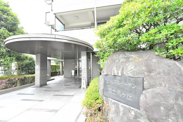エクレールガーデン富士見ヶ丘 館銘板