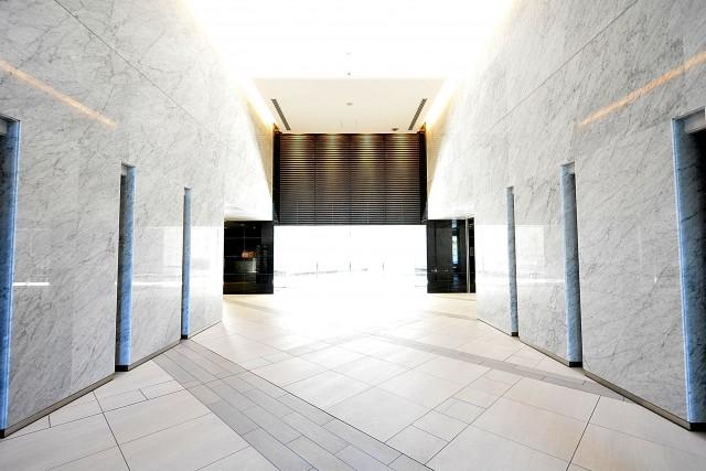 ザ・晴海レジデンス エントランスホール