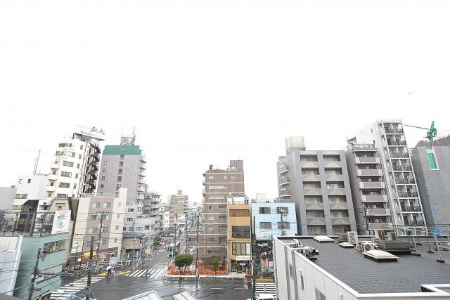 日神デュオステージ新宿若松町 バルコニー眺望