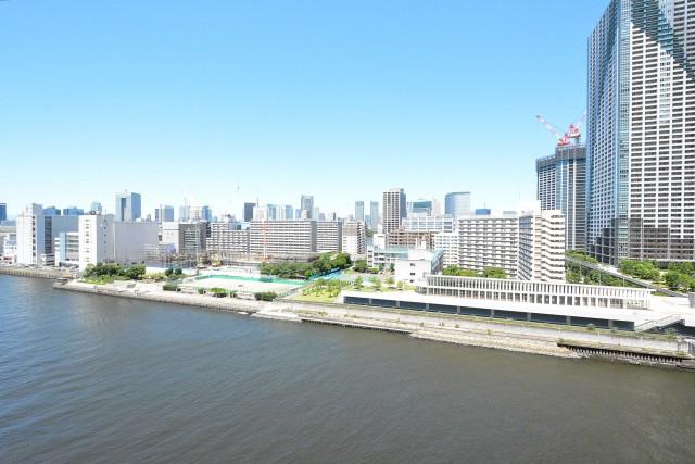 ザ・晴海レジデンス 11.78㎡のバルコニー眺望