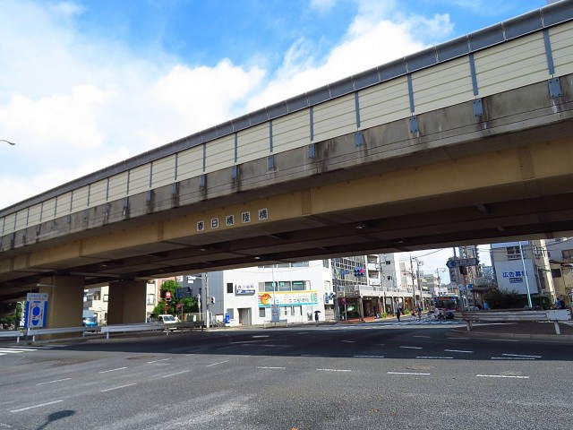 大森中央ハイム 春日橋陸橋