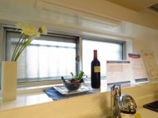 ハイライフ大森 キッチン側の窓
