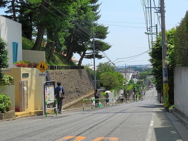 ハイネス尾山台 マンションまでの道