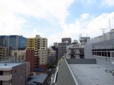 ハイライフ大森 共用廊下からの眺望