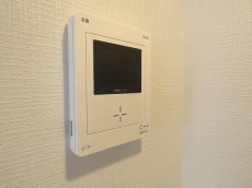 ライオンズマンション等々力 TVモニター付きインターホン